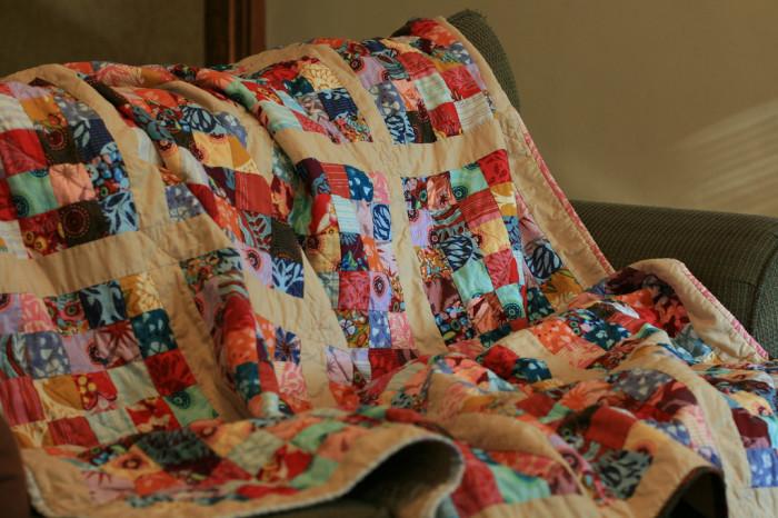 13. Handmade Quilt or Afghan