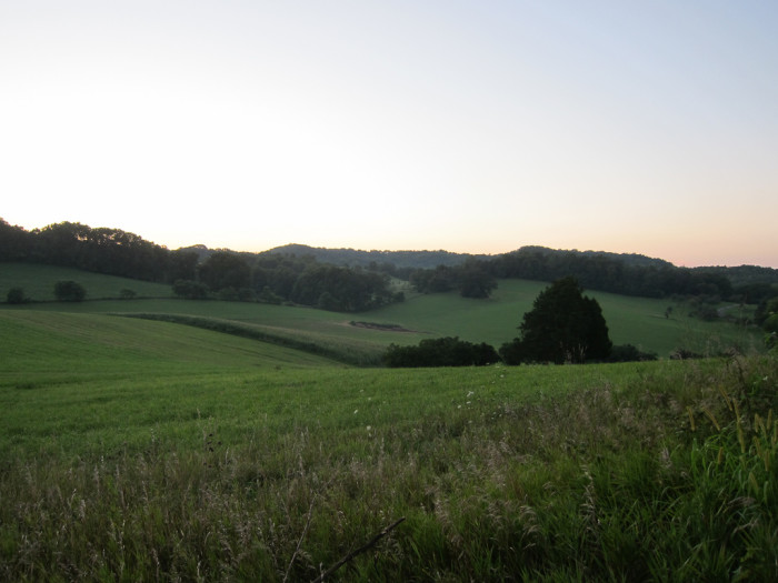 8. The Driftless Area in southeastern Minnesota is absolutely beautiful with rolling hills.