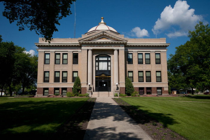 6. Sargent County Courthouse in Forman, North Dakota.