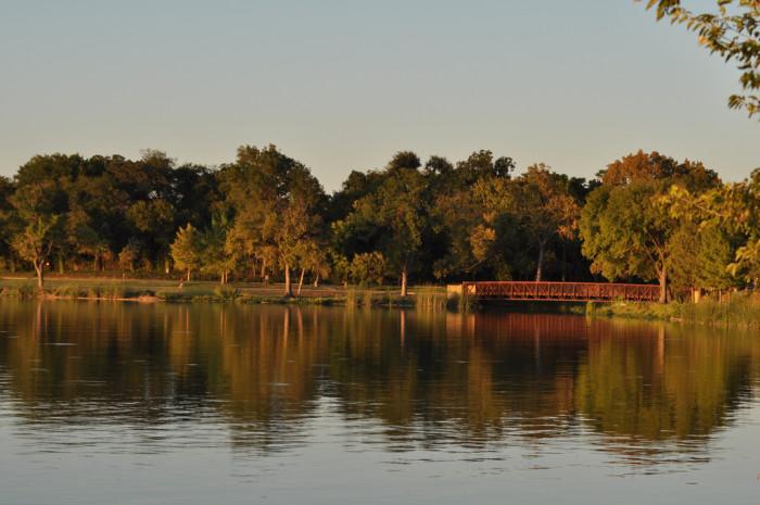 1) White Rock Lake (Dallas)