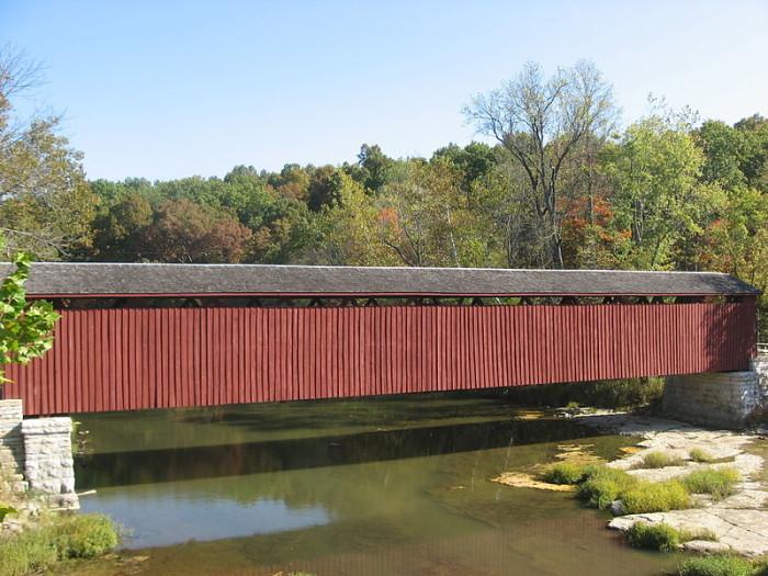 6. Cataract Falls Covered Bridge
