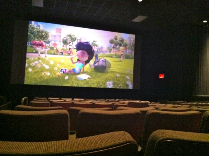 5) Visit your local movie theater to escape the heat (if even for just a couple hours) and catch a film.