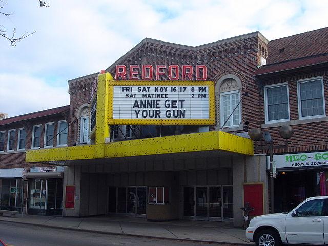 13) Redford Theatre, Detroit