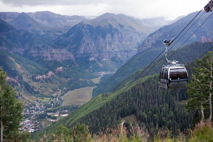 2.) Telluride/Mountain Village gondola