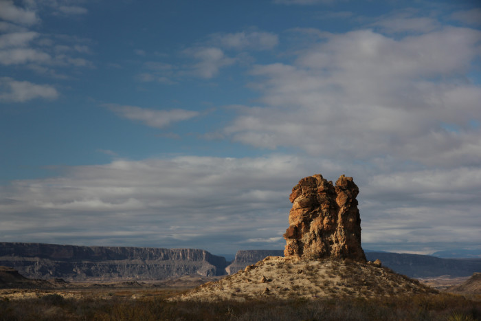 4) The Chimneys at Big Bend National Park