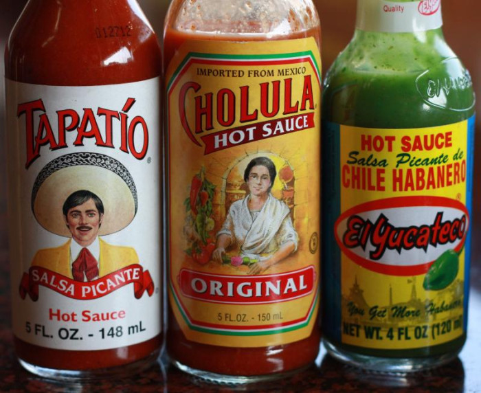 12. You probably have a bottle of hot sauce or salsa sitting in your fridge at home or at the office.