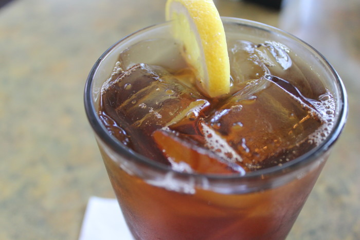 6. The only way to drink tea is sweet and on ice.
