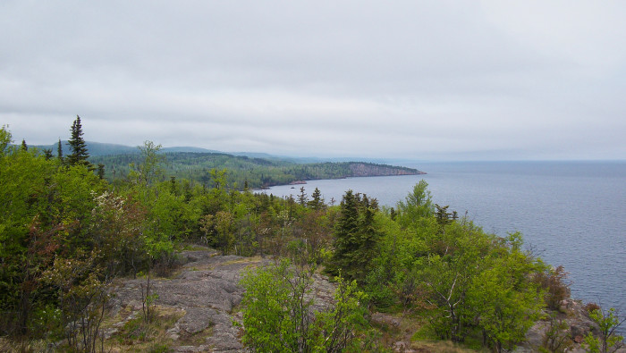 17. Or to head way north, try Palisade Head on beautiful lake Superior. More private than Split Rock and just as scenic.