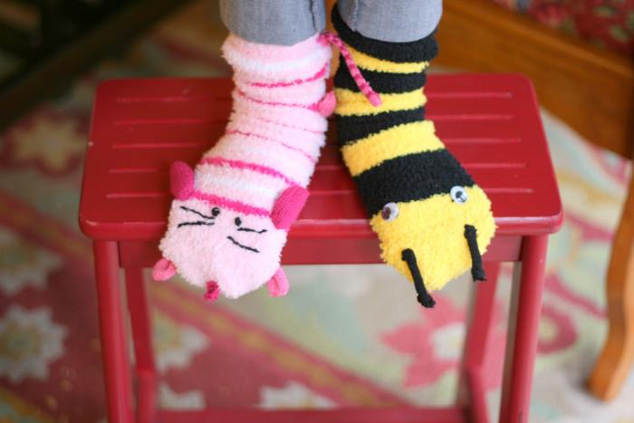 6. Fuzzy socks