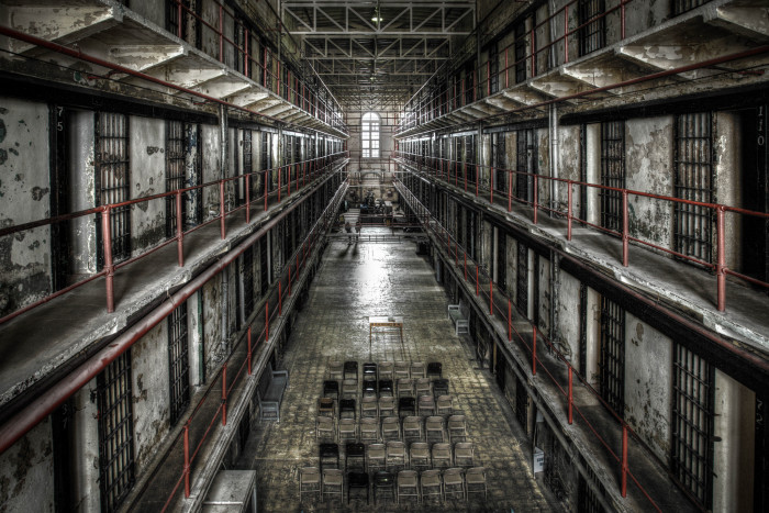 7. Penitentiary in Jefferson City.  Creepy.