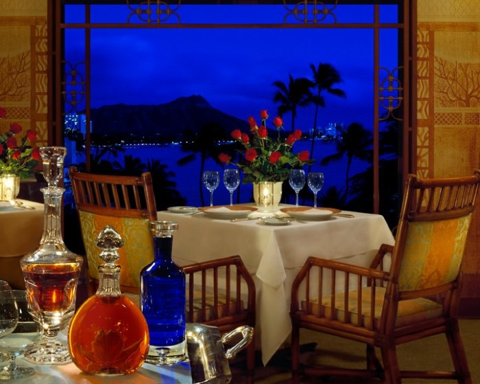 """7) La Mer is an incredibly fancy slice of France in the heart of Waikiki – with spectacular views of the ocean. La Mer does mean """"the sea,"""" after all."""
