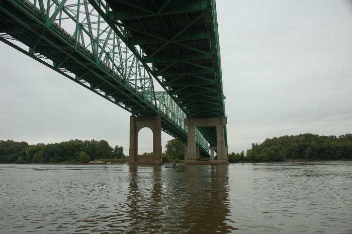7. Daniel Boone Bridge Hwy 40, Chesterfield