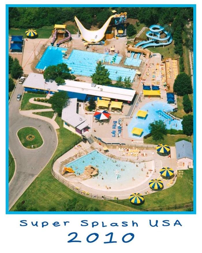 5. Super Splash USA, Raytown