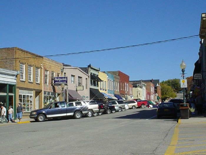 7. Weston, Population 1,703
