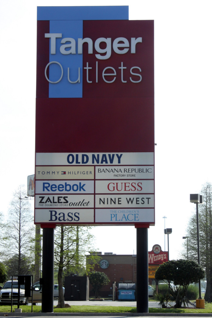 10. Find a mall or an outlet.