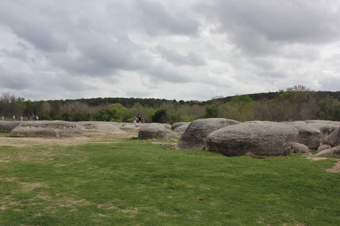 11) Big Rocks Park (Glen Rose)