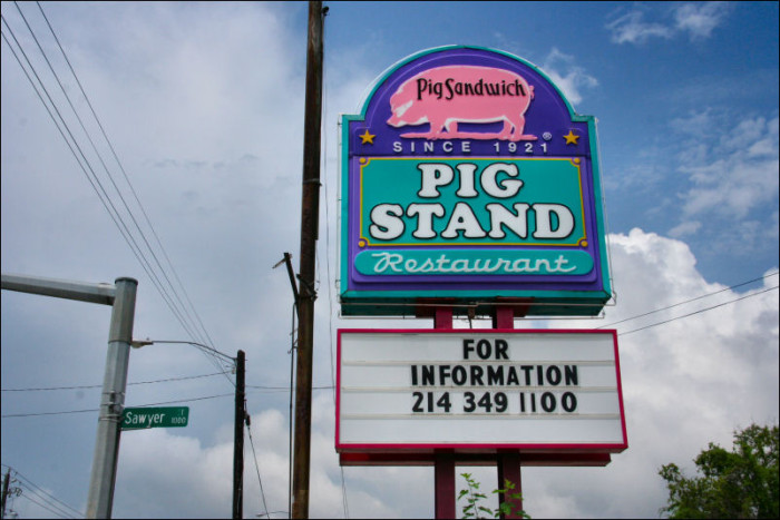 2) The Pig Stand