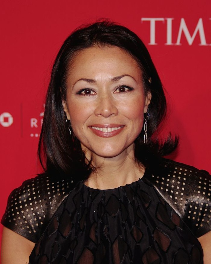 3) Ann Curry, born in Guam, raised in Japan and Ashland