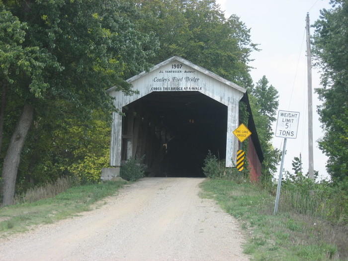 7. Conley's Ford Covered Bridge