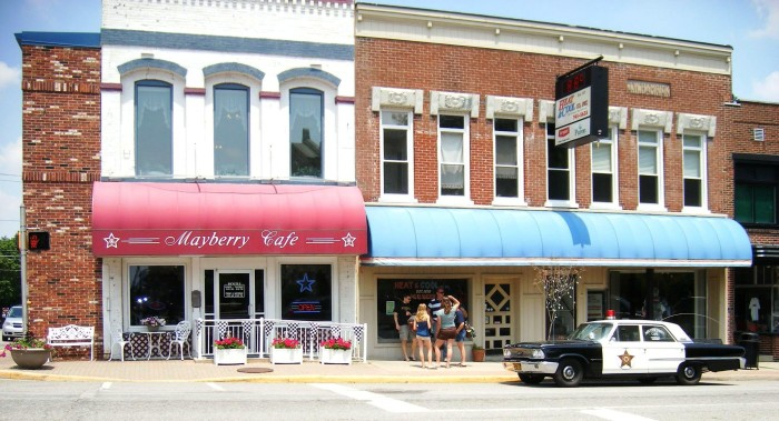 7. Mayberry Cafe (Danville)