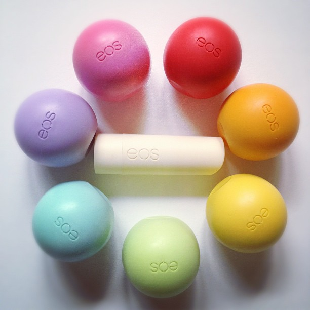 3.) Chapstick (and lots of it)