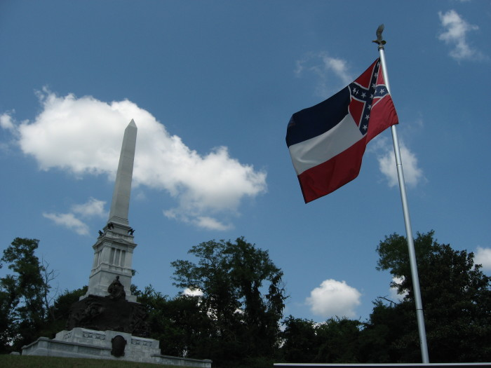 7. In addition to seeing the American flag proudly displayed just about everywhere, you will see the Confederate flag. Many out-of-towners are initially a bit surprised by this, but to some Mississippians it is a matter of preserving our state's heritage.