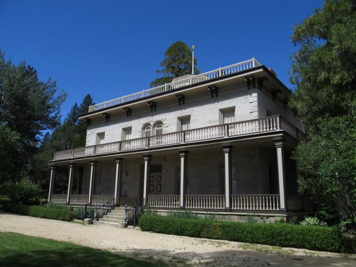 3. Bowers Mansion - New Washoe City, NV