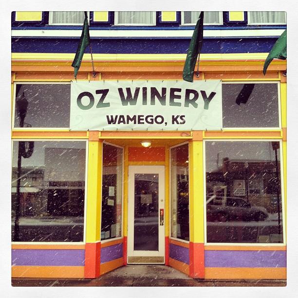 5.) Oz Winery (Wamego)