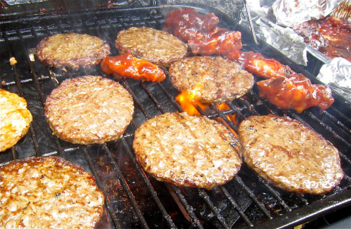 6. Host a cookout for family and friends.