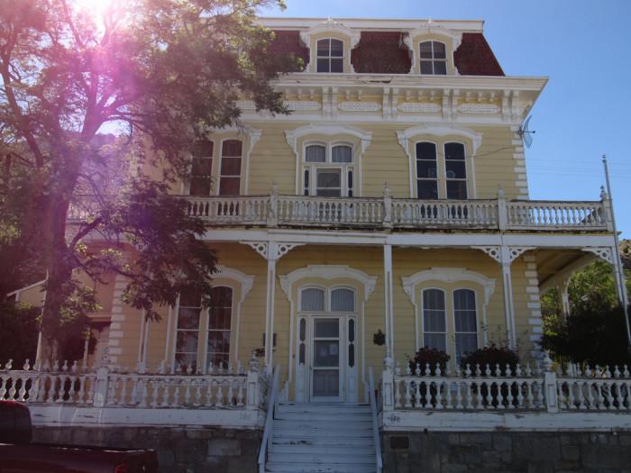 1. Savage Mansion - Virginia City, NV