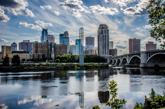 Now - Another stunning comparison of Minneapolis.