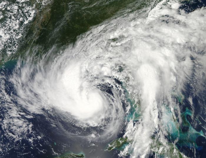 7. You've been through a hurricane.