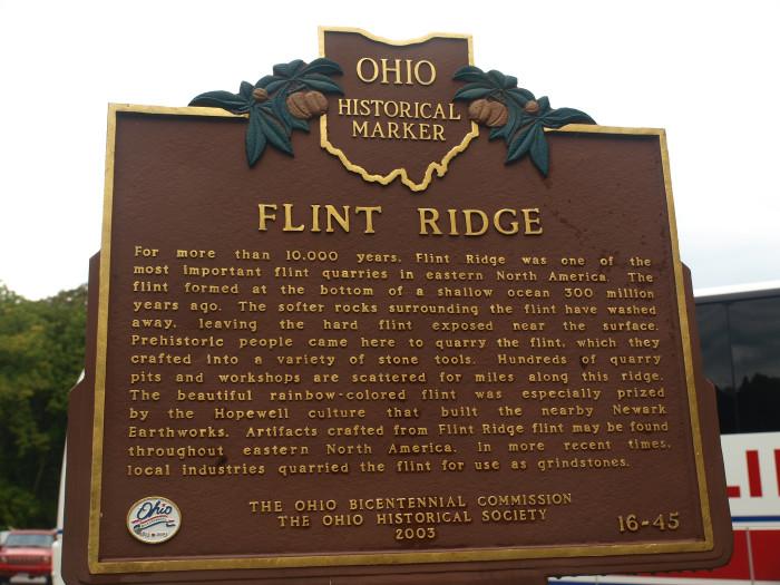8) Flint Ridge (Glenford)