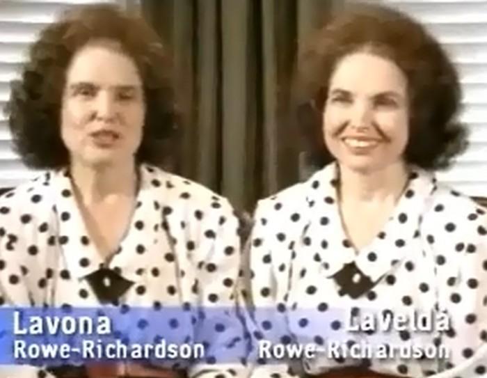 7. The Rowe-Richardson Twins