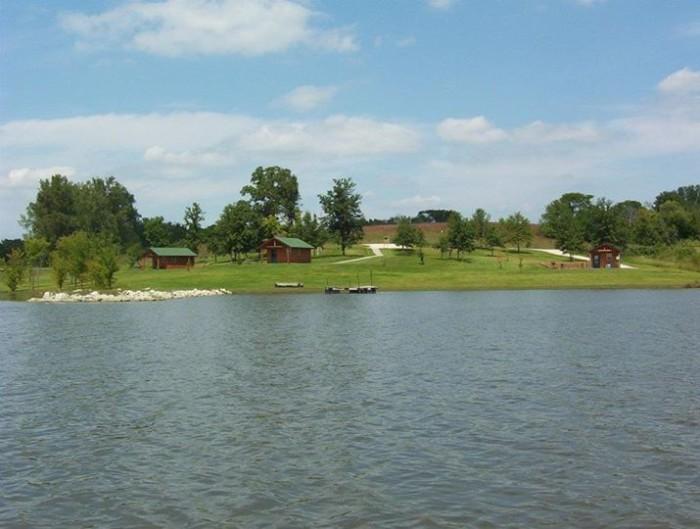 7. Little River Lake, near Leon
