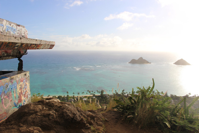 8) Lanakai Pillboxes, Oahu