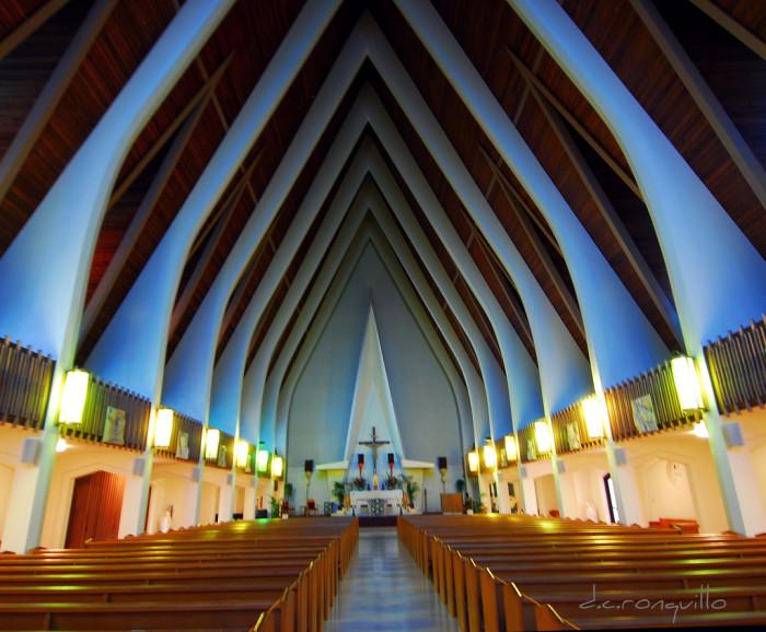 8) St. Augustine by the Sea Catholic Church, Oahu