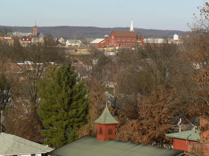 8. Hermann, Population 2,389
