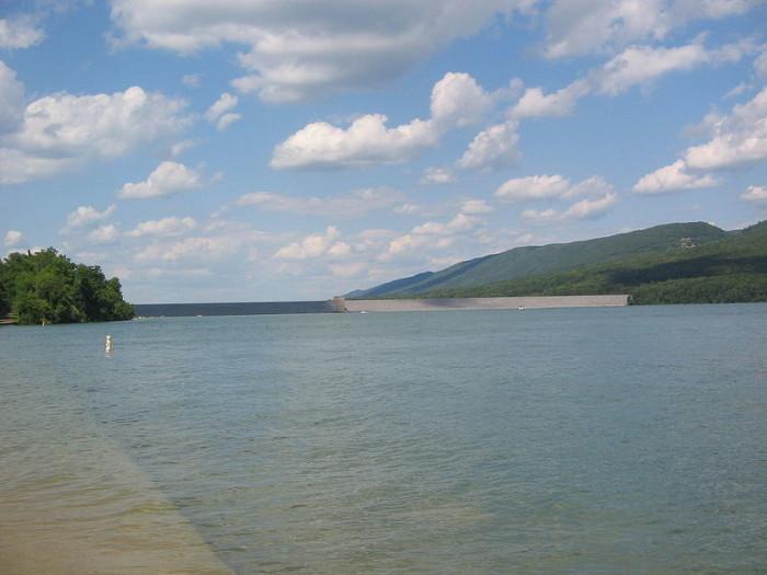 8. Foster Joseph Sayers Dam