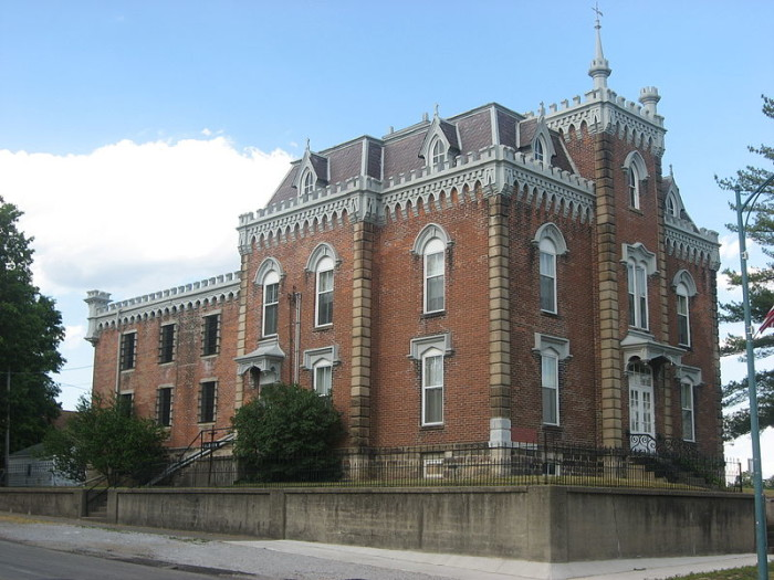 8. Noble County Sheriff's House and Jail