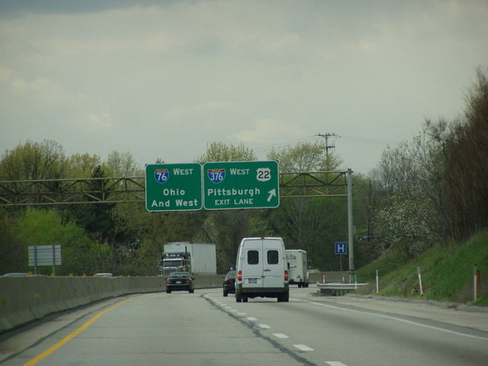 8. The first long distance paved road in the country is located in Pennsylvania.