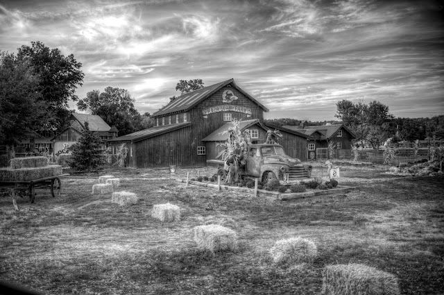 A Simply Gorgeous HDR Shot of Roca Berry Farm