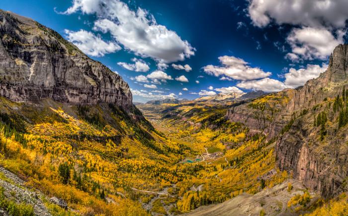 1.) Telluride in the fall