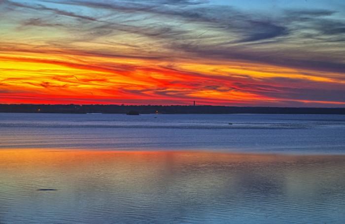 9.) Clinton Lake (Lawrence)