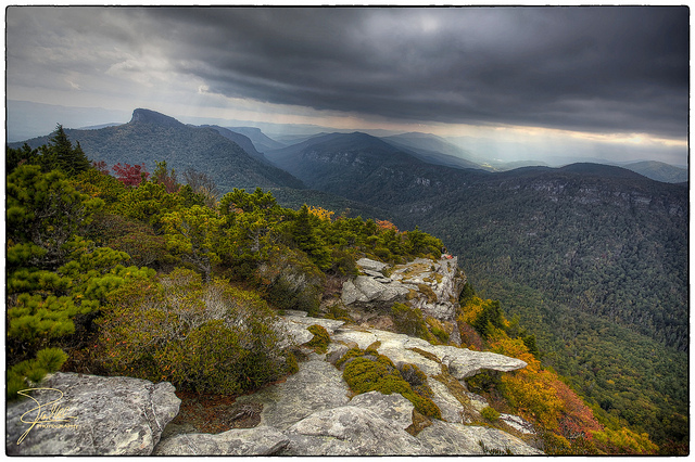 3. Linville Gorge from Hawksbill Mountain