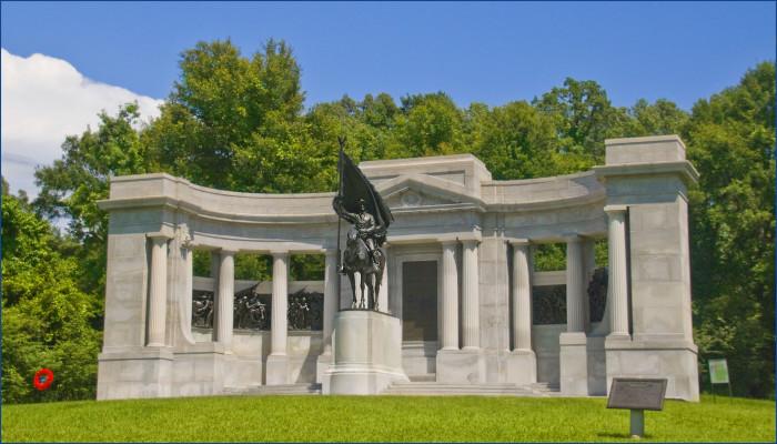 8. Vicksburg National Military Park, Vicksburg