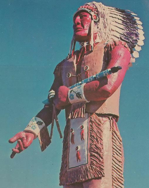 9) World's Largest Indian, Ironwood