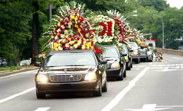 8. They'll ALWAYS pull over for a funeral procession.