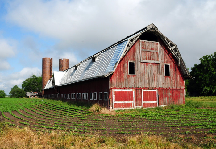 8. This quintessential farm is located in Sharkey County.
