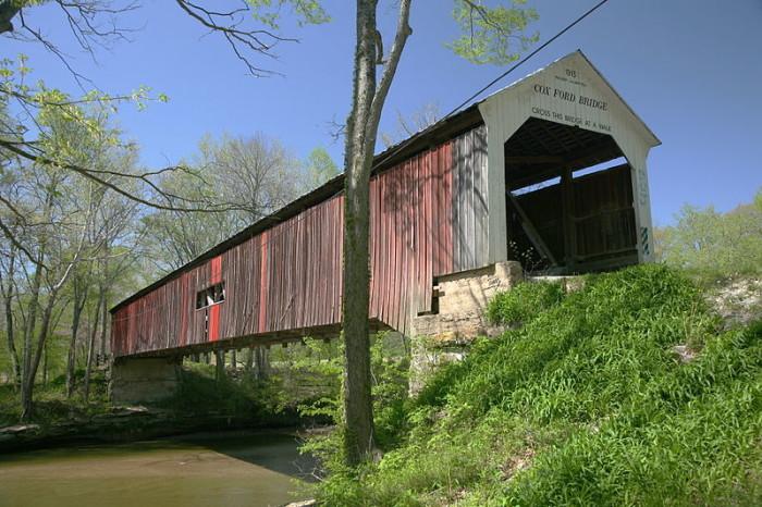 8. Cox Ford Covered Bridge